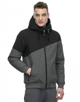 Ragwear Wings Herren Winterjacke black